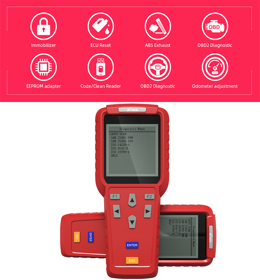 XTOOL Distributor Xtool X100 PRO Auto Key Programmer X100 Updated Version with EEPROM Adapter FAST SHIPPING in Auto Key Programmers from Automobiles Motorcycles