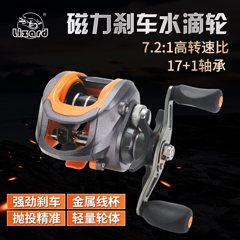 Comay Dragon Full Metal Head Drip Wheel Long Shot Fishing Reel Raft Fishing Wheel Raft Wheel Road Sub Magnetic Braking Fishing V(China)