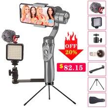 Orsda Stabilisateur Cardan Smartphone Caméra 3 Axes PTZ Portatif pour Téléphone IPhone11XS XR X 8plus W/Focus Pull & Zoom Estabilizador