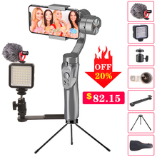 Orsda Stabilizer Gimbal Smartphone Camera 3 Axis Handheld PTZ for Phone IPhone11XS XR X 8Plus W/Focus Pull & Zoom Estabilizador