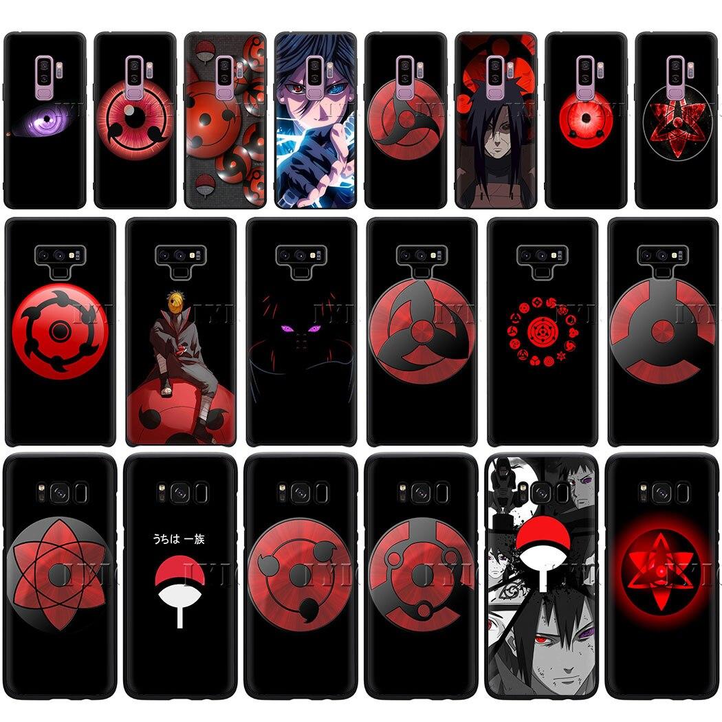 Mangekyou Sharingan Sasuke Soft Silicon Phone Case For Samsung A6 Plus A3 A5 A7 A8 A9 J6 A2 J4 Cover Half Wrapped Cases Aliexpress