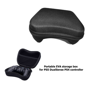 Image 4 - Storage EVA Hard Case Shockproof Hardshell Carrying Case for PS5 DualSense PS4 Controller Portable Travel Storage Bag Pouch