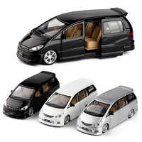 New Arrival 1:32 3 Colors Wholesale MPV Model Alloy Pull Back Car Toy Diecast Metal Model Vehicle Without Box V234