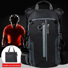 Waterproof Bicycle Backpack Bag Breathable Cycling Backpacks For Climbing Outdoor Sports Travel Men Foldable Folding Rucksack