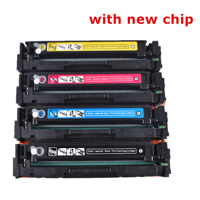BLOOM Replacement CF530A -CF533A 205A Color Toner Cartridge With Chip For Hp Color LaserJet Pro 154 M154nw M180nw M180n Printer