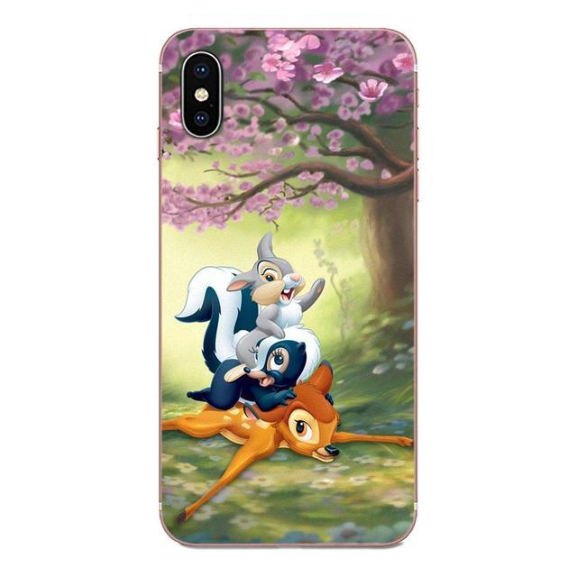 Lanimation américaine Bambi Cerf Pour Samsung Galaxy Note 8 9 10 Pro S4 S5 S6 S7 S8 S9 S10 S11 S11E S20 Bord Plus Ultra