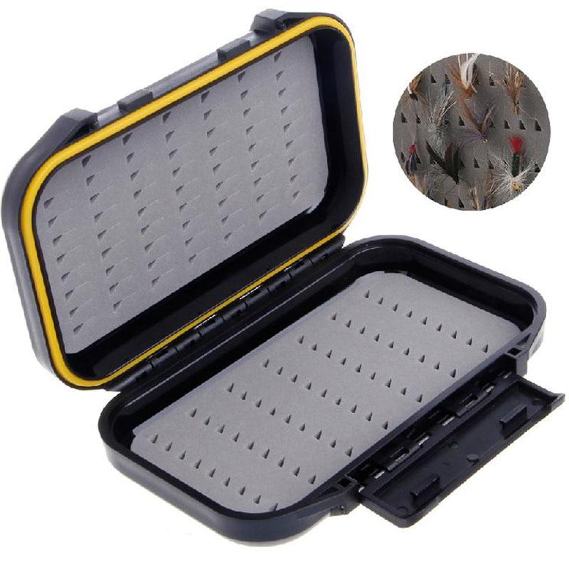 Transparent ultra-thin fly hook box fly fishing hook box fishing gear WF 28055