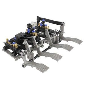 Image 5 - STARPAD Gegrillte Reifen Maschine Pedal Chassis Aluminium Rahmen Pedal Control Ventil Reifen Entfernung Maschine Pneumatische Montage Schalter
