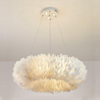 Los siguientes modelos pluma Plafonnier plumas lámpara Lampada Abajour Colgante luz Plafond...