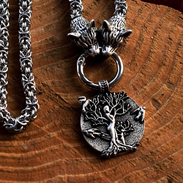 TREE OF LIFE VIKINGS PAGAN NECKLACE