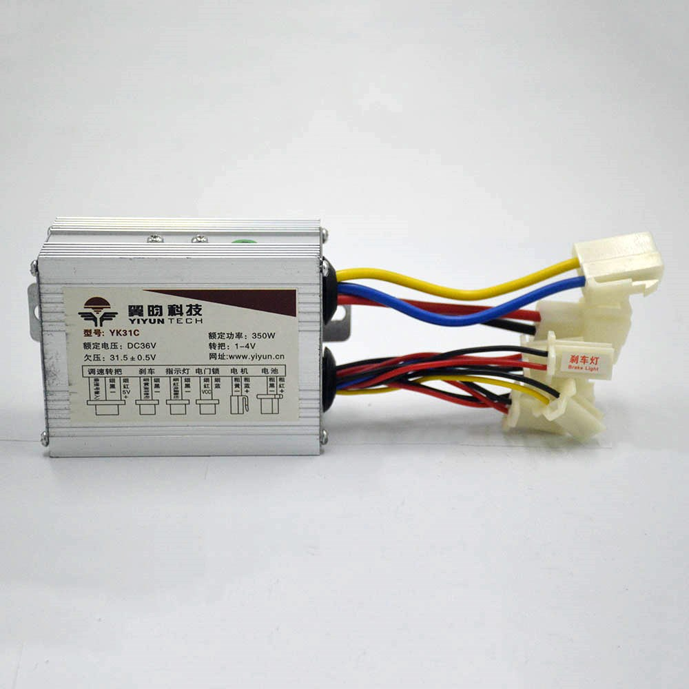 24V 36V 48V 500W DC bike motor brushed controller for electric bike scooter e-bike electric bicycle ebike