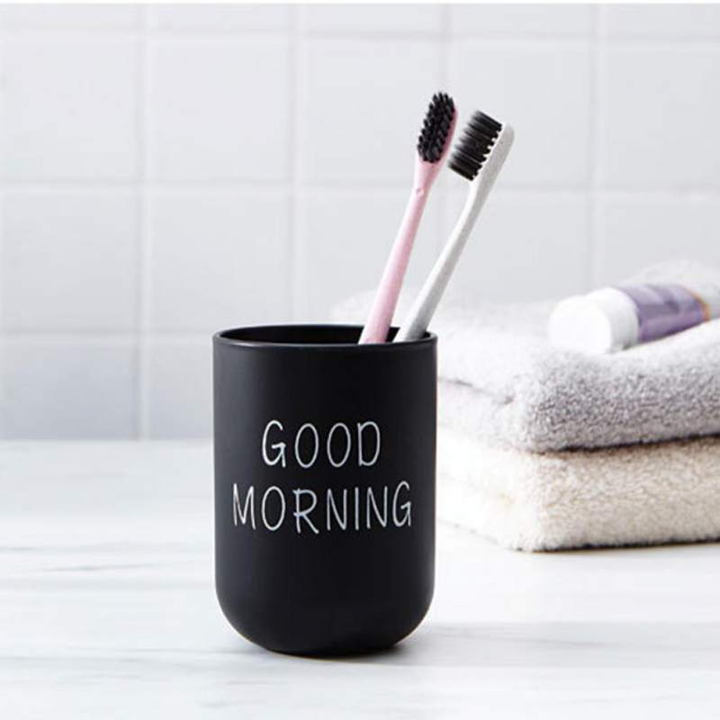 Creative Simple Nordic Travel Portable Washing Cup Plastic Toothbrush Holder Tooth Brush Storage Organizer Cup