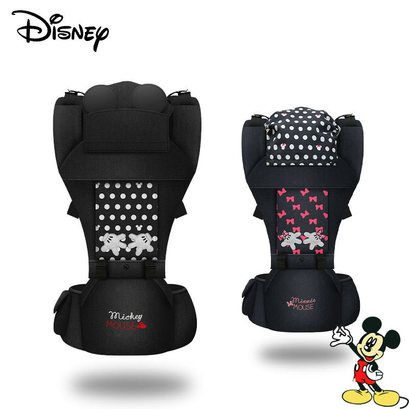 Disney Ergonomic Baby Carrier Infant Baby Hipseat Carrier Front Facing Kangaro Baby Wrap Carrier For Baby Travel 0-18 Months New