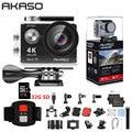 AKASO EK7000 WiFi 4K экшн-Камера Ультра HD Водонепроницаемая DV видеокамера 12MP камера s Спортивная камера 170 градусов широкоугольный оригинальный