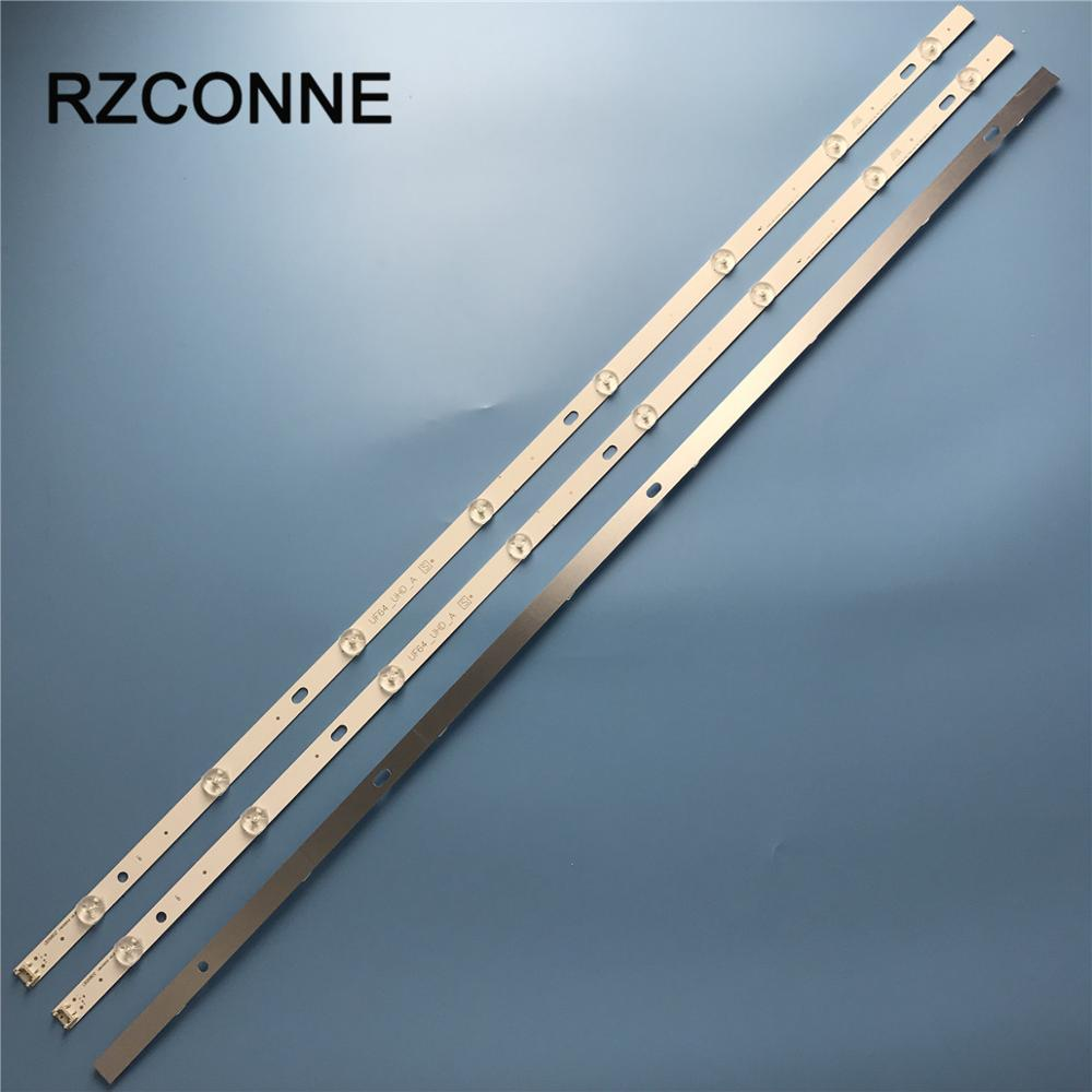 LED Backlight strip 8 lamp For LG Innotek Direct 43inch UHD 1Bar 24EA type UF64_UHD_A 43UH610V 43LH5700 43UH619V 43UH6100