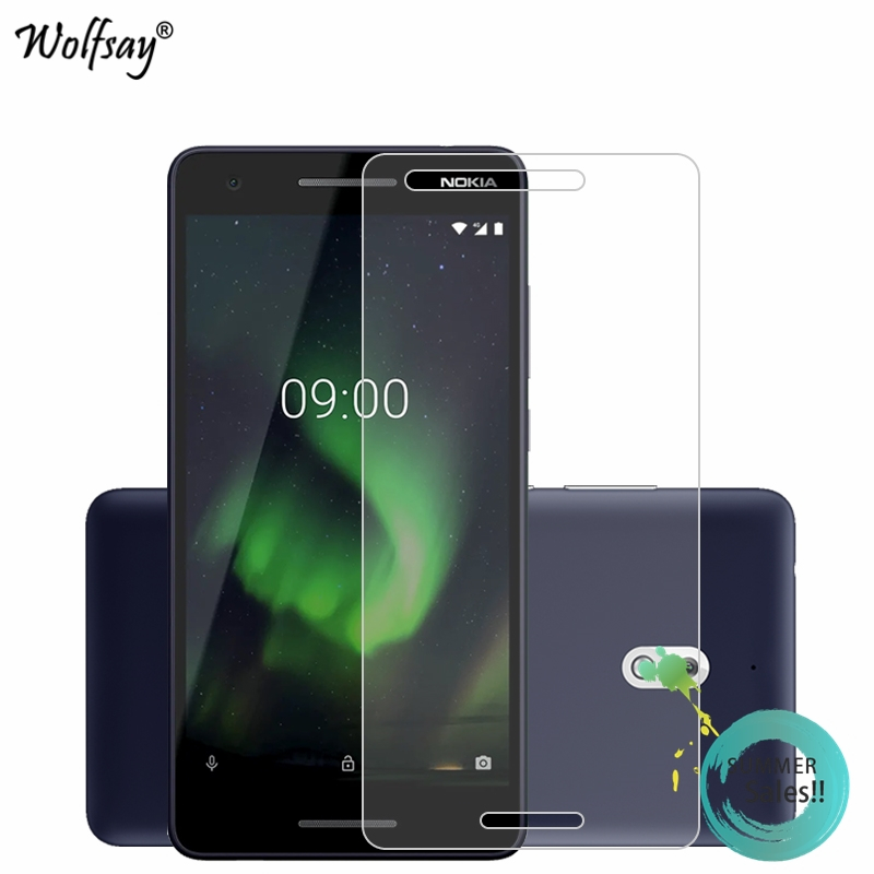 2PCS Glass For Nokia 2.1 2018 Screen Protector For Nokia 2 2018 Tempered Glass For Protective Film For Nokia 2.1 TA-1080 Glass