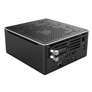 Image 3 - Intel i7 10750H i9 Gaming Mini PC Windows 10 2 Intel Lans Desktop Computer PC System Unit 2*DDR4 2*M.2 AC WiFi 4K HTPC HDMI DP