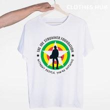 The Clash - Joe ummer 티셔츠 오-넥 반팔 여름 캐주얼 패션 남여 남녀 Tshirt