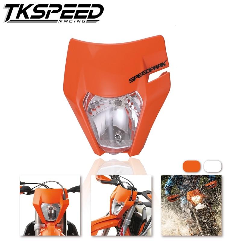 Motorcycle Headlight Motocross Supermotor Headlamp For 2017 18 KTM Headligt EXC XCF SX F SMR Enduro Dirt Bike