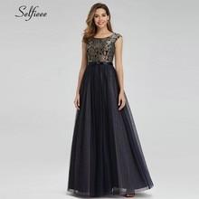 Vintage Lace Maxi Dresses O-Neck Sleeveless Bow Sashes Elegant Patchwork Navy Blue Women Long Summer Robe Femme