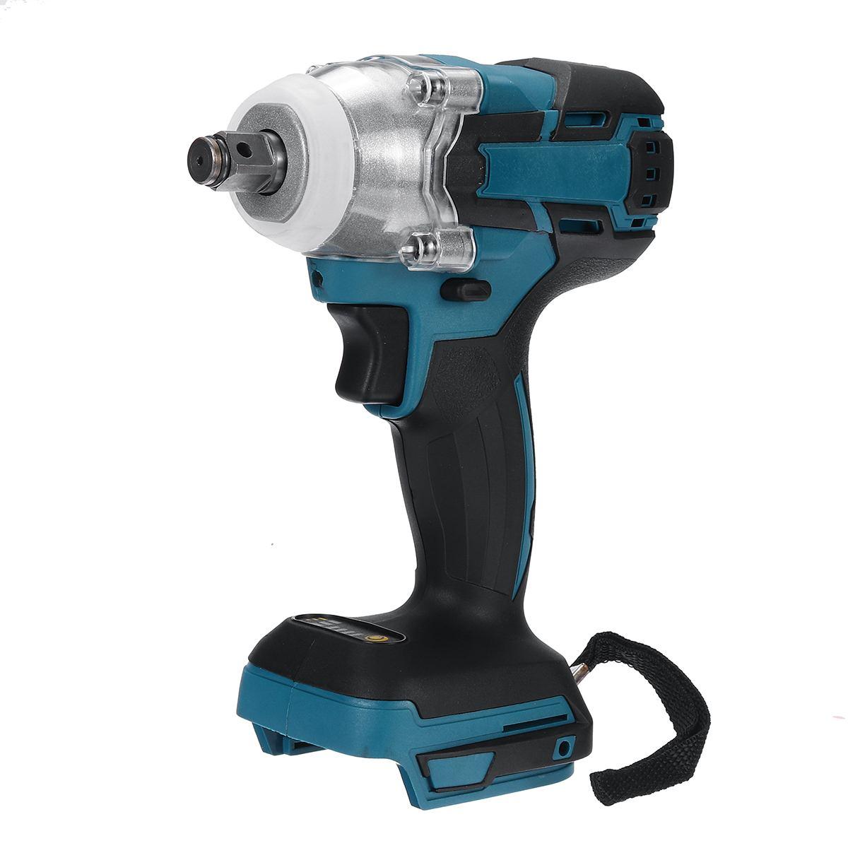 18V 280Nm Cordless Impact Wrench Driver Brushless Motor 1/2