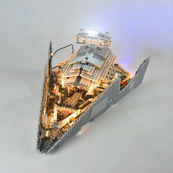 LED Building Block USB Light Accessory Kit for Imperial Star Destroyer 75055 (Only LED Light, No Block Kit) image