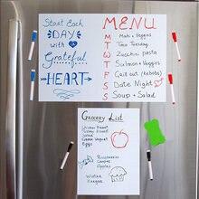 Магнитная доска a4 + a3 для холодильника еженедельный меню планировщик