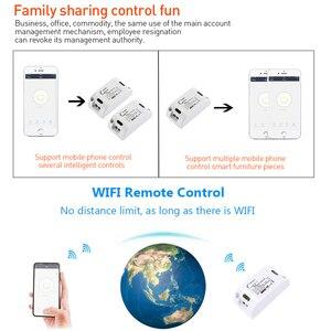 Image 3 - Rubrum WiFi Switch RF 433MHz 10A/2200W Timer Wireless Push Switch 86 ON/Off Switch Panel For Tuya Google Home Amazon Alexa Light
