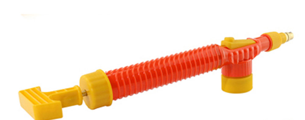 H60754f97645e47798ce49c2f1f526746P 1pcs Household High Pressure Air Pump Manual Sprayer Garden Adjustable Trolley Gun Nozzle Watering Spray Sprayer Head with Joint