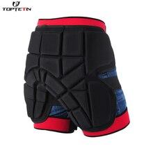 TOPTETN взрослые мужские и женские Защитные шорты для бедер и ягодиц с подкладкой лыжи коньки сноуборд шорты для активного отдыха Размер s m l