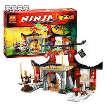 Compatible Ninjagoes 70756 Dojo Showdown Set Bela 10319 214pcs With 4 Mini Figures Building Blocks Toys for Children Boy Gifts