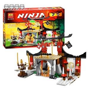 Image 1 - תואם Ninjagoes 70756 דוג ו עימות סט Bela 10319 214pcs עם 4 מיני דמויות אבני בניין צעצועים לילדים ילד מתנות