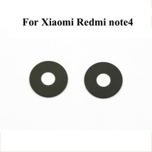 100% New For Xiaomi Redmi Note 4 Mobile Phone Back Rear Camera Lens Glass Cover High Quality Replacement Repair Parts(China)