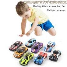 Новинка 8 коллекционных поднятых под давлением автомобилей масштаб 1:64 детская игрушечная машинка из металлического сплава мини автомобиль...