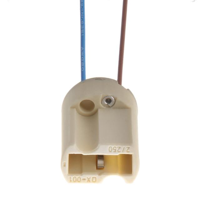 5x G9 pied de lampe 250V 2A prise céramique G9 Type halogène support de lampe