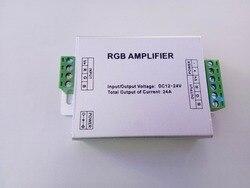 12V /24V 24A LED RGB wzmacniacz sygnału kontroler dla SMD 3528 5050 5630 5730 listwy RGB LED oświetlenie