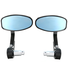 Mayitr 2pcs CNC Motorcycle Bar End Rearview Side Mirror Left Right Mirrors For Triumph Speed Triple