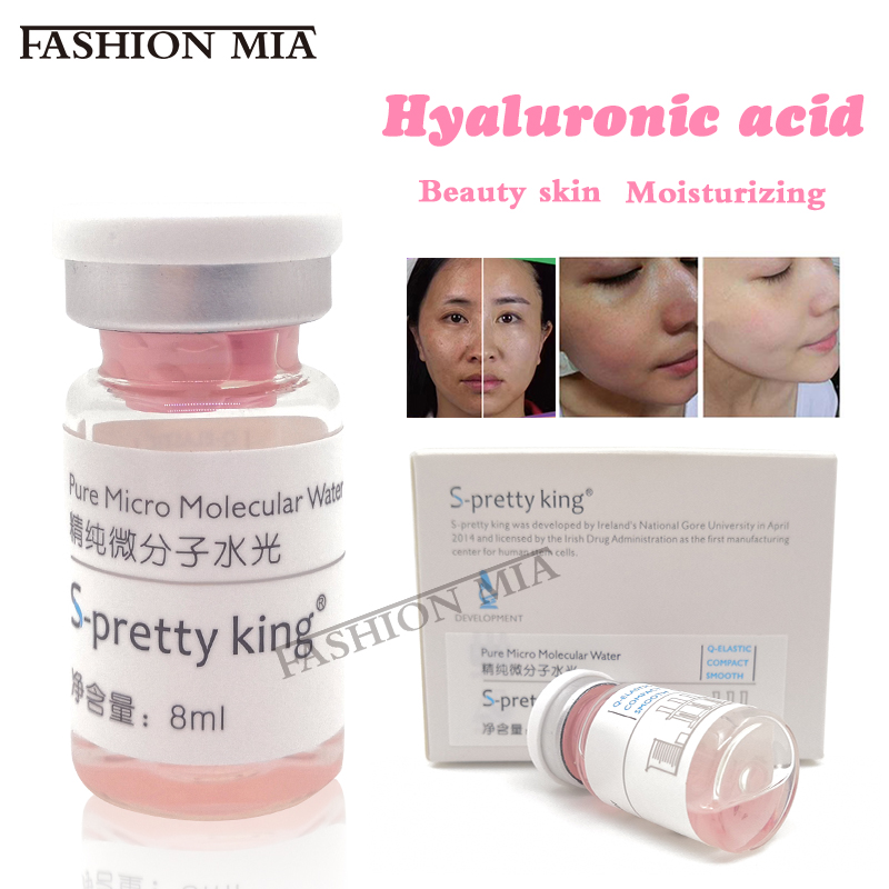 8ml Beauty Skin Injectable Cross Linked Hyaluronic Acid For Face Injection Whitening Moisturizing HA Collagen Acido Hialuronico