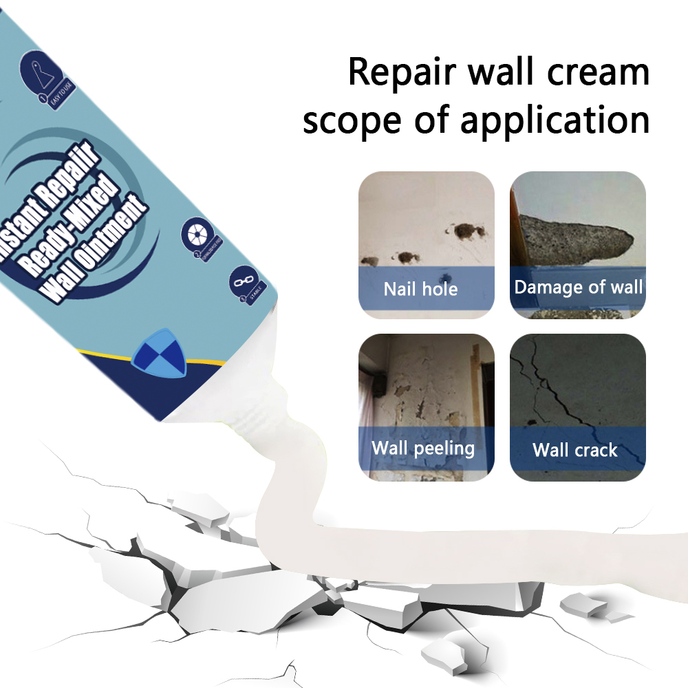 Instant Wall Repairing Paste Fix Ready-Mixed For Walls Peeling Universal Wall Patch Fix Ointment