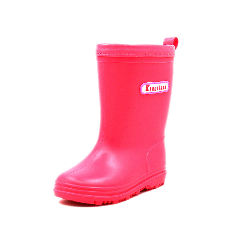 Image 3 - Children Rain Boots Spring Autumn Winter Boys Girls Shoes Baby Kids Boys Girls Rainboots Waterproof Shoes Cartoon RainbootBoots   -