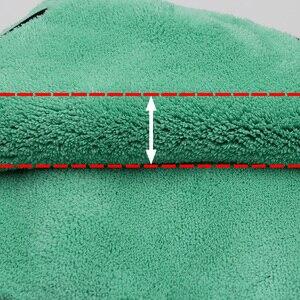 Image 3 - Car Wash Cleaning Soft Microfiber Towel Car Detailing Microfiber Rag for Car Polish Thick Plush Drying Absorption Car Care Cloth
