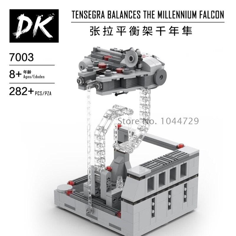 NEW Star Wars X-wing Millennium Y WING Falcon Tensegrity Sculptures Anti Gravity Dynamic Physics Balance Building Blocks Bricks