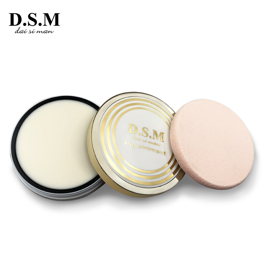D.S.M Brand New Pig Ointment Cream Concealer Facial Primer Brighten Oil-Control Foundation Base Makeup Velvety Complexion Balm image