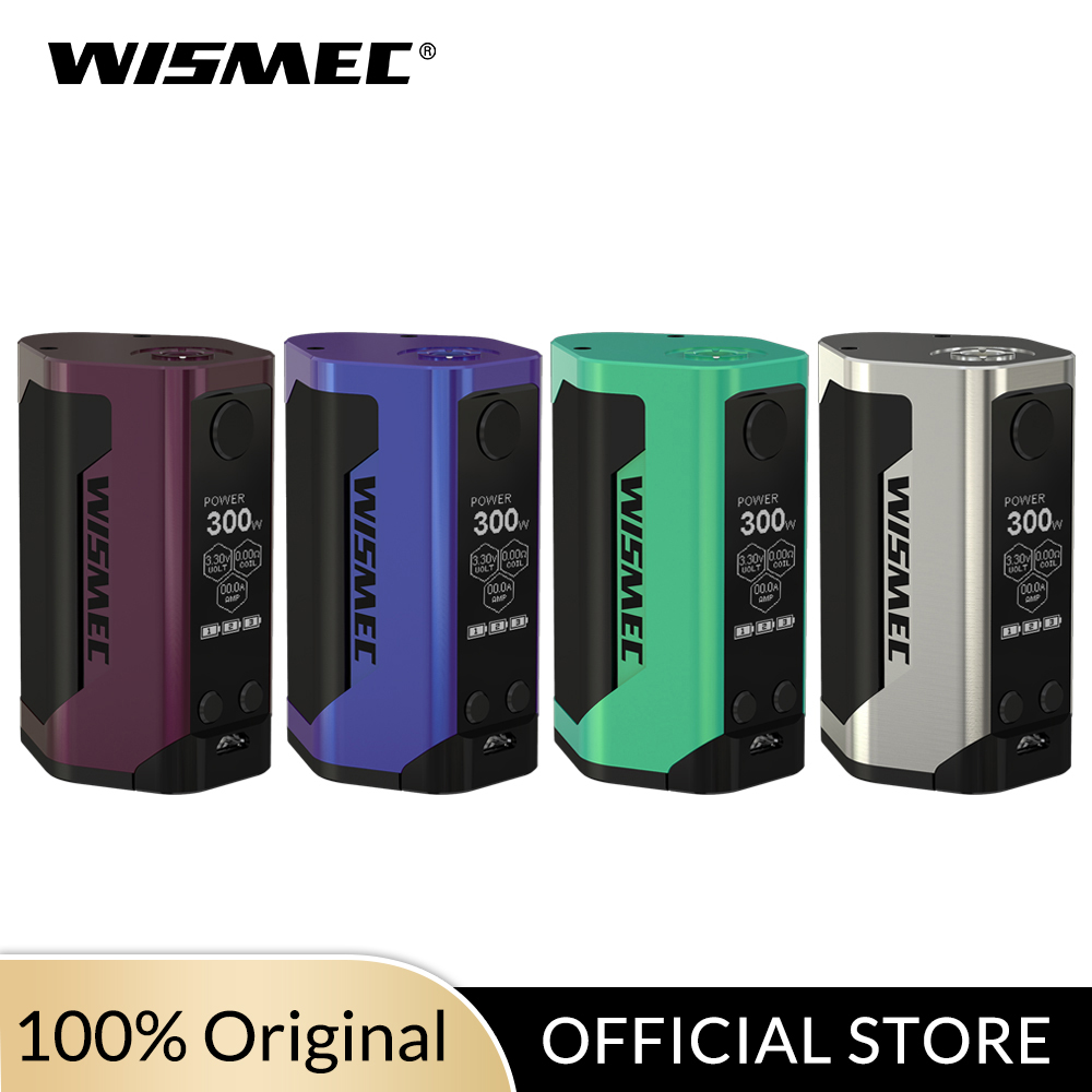 [USA/France] Wismec Reuleaux RX GEN3 TC Mod Box 300W Output Powered By 18650 Battery VW/TC-Ni/TC-Ti/TC-SS/TCR Mode Vape Box Mod