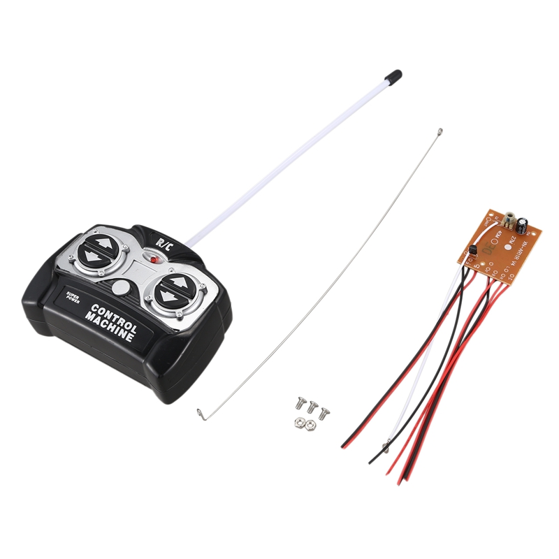 5CH 27Mhz Remote Controller Unit Receiver Circuit Board+Remote Control for RC Tank Car Toy Radio System