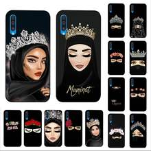 YNDFCNB Muslim Islamic Arabic Gril Eyes Koran Phone Case for Samsung A30s 51 5 71 70 40 10 20 s 31 A7 A8 2018(China)