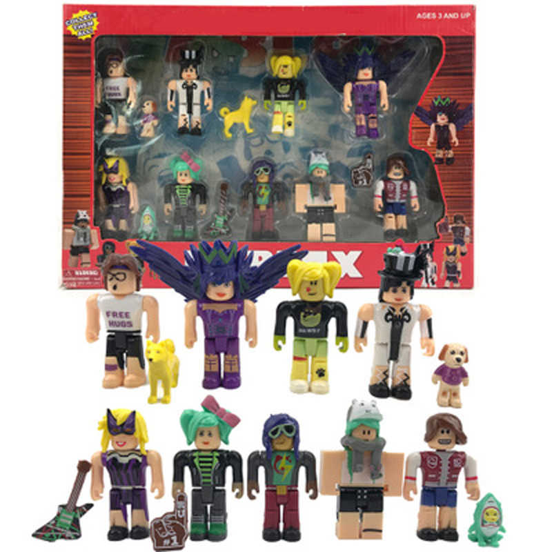 20 Stijl Roblox Game Action Figure Speelgoed Hero Voor Decoratie Collection Collectiable Blok Model Boxed Speelgoed Voor Kinderen Geschenken