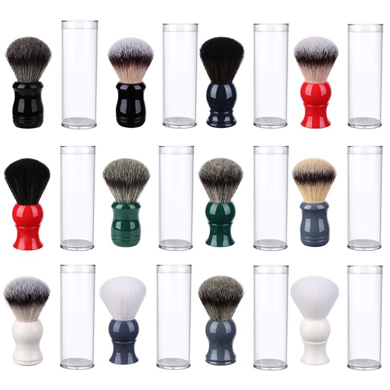 Men Facial Beard Cleaning Razor Shaving Beard Brush Massage Mustache Comb