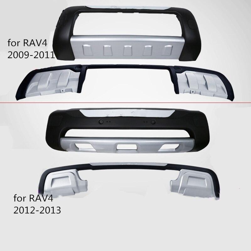Auto Modificatie Voor/Achter Bumper Voor Toyota RAV4 2009 2010 2011 2012 2013