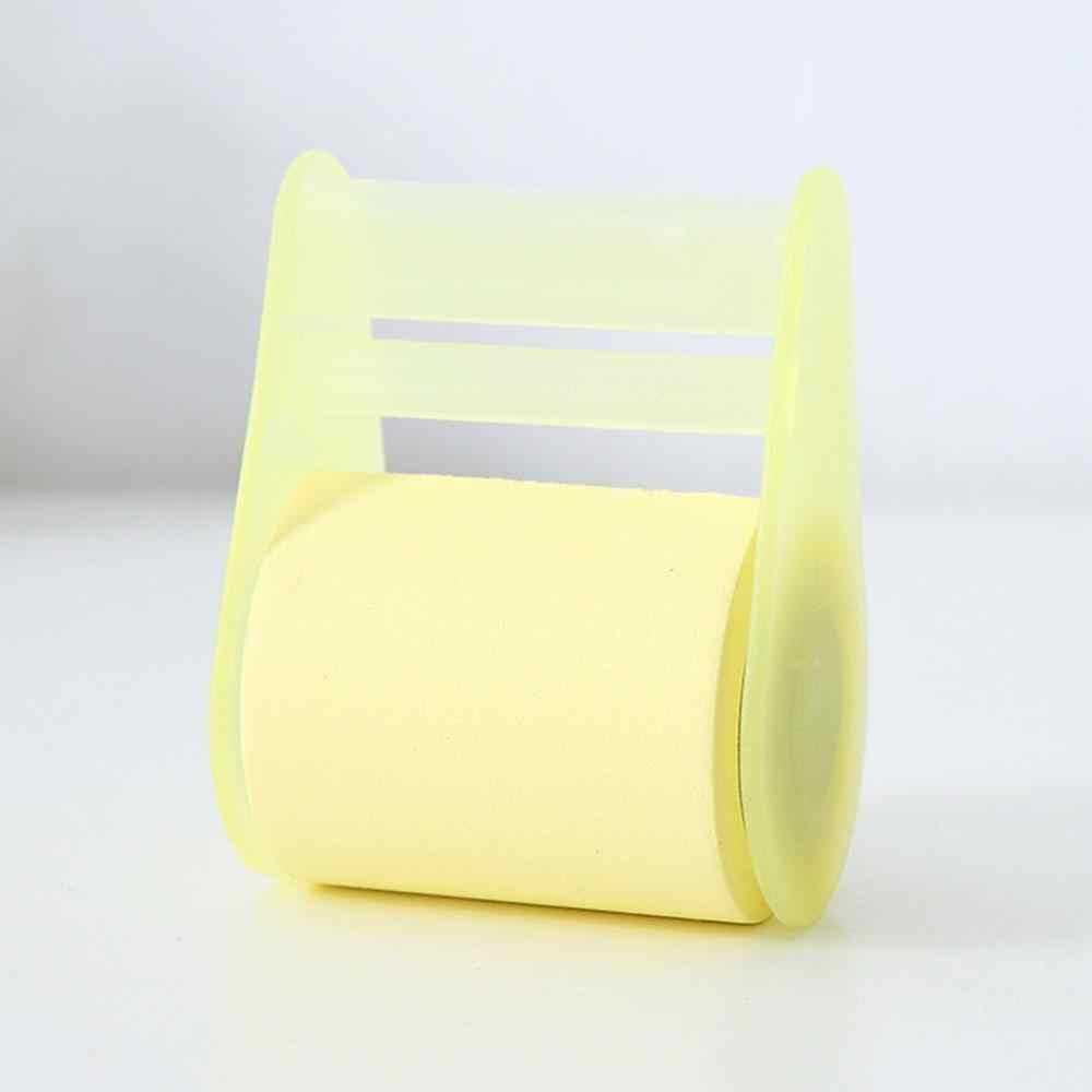 דביק הערות מתקן תזכיר Pad שולחן כתיבה הערה נייר רול מחזיק Creative חמוד קרוע הערה ספר משרד מכתבים דביק